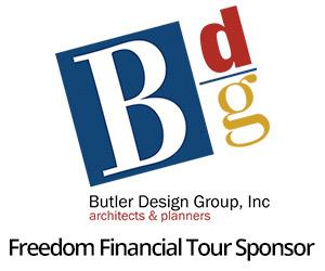 Butler Design Group Freedom Financial Tour Sponsor